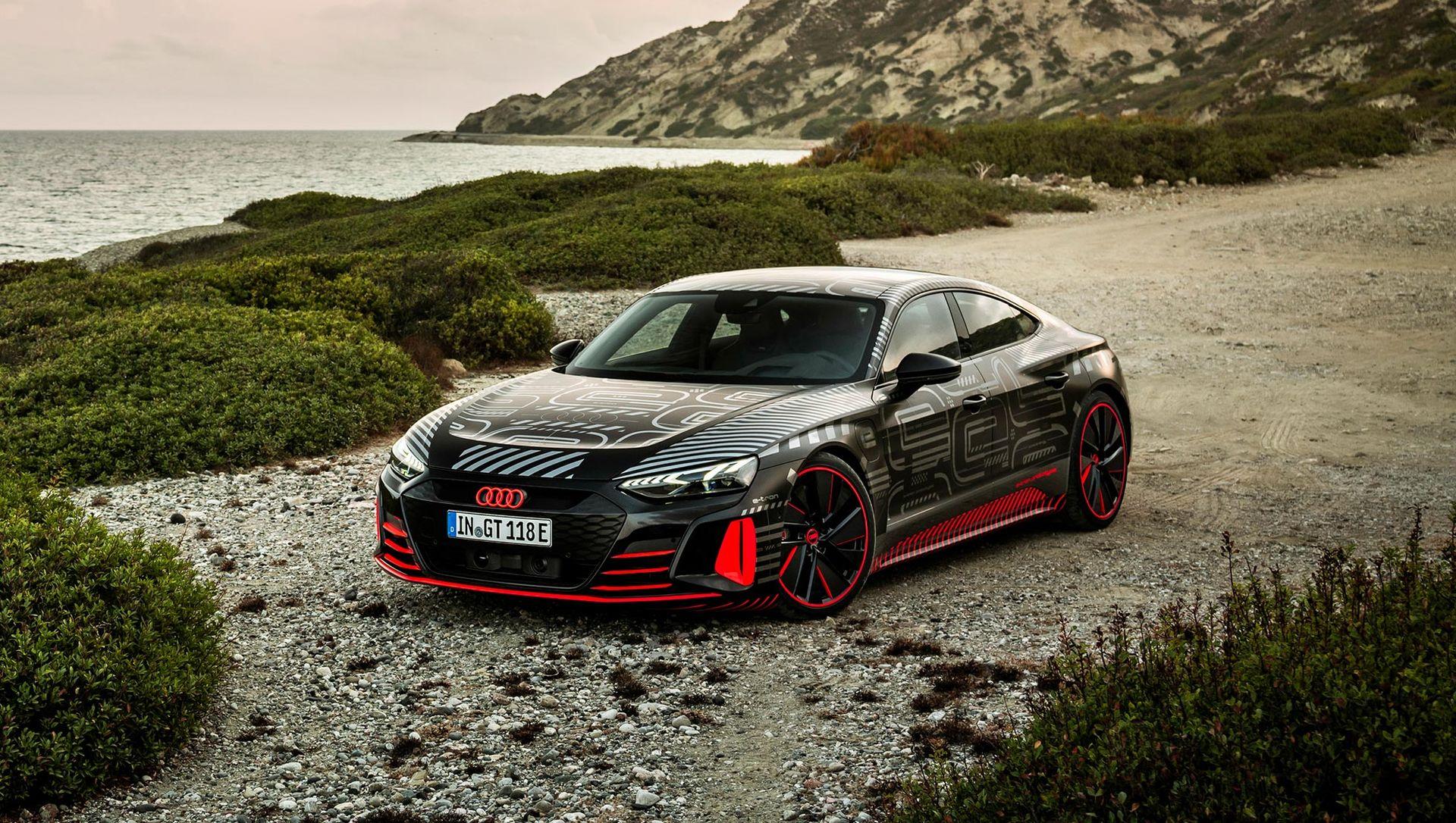 Audi berättar lite mer om RS-versionen av e-tron GT