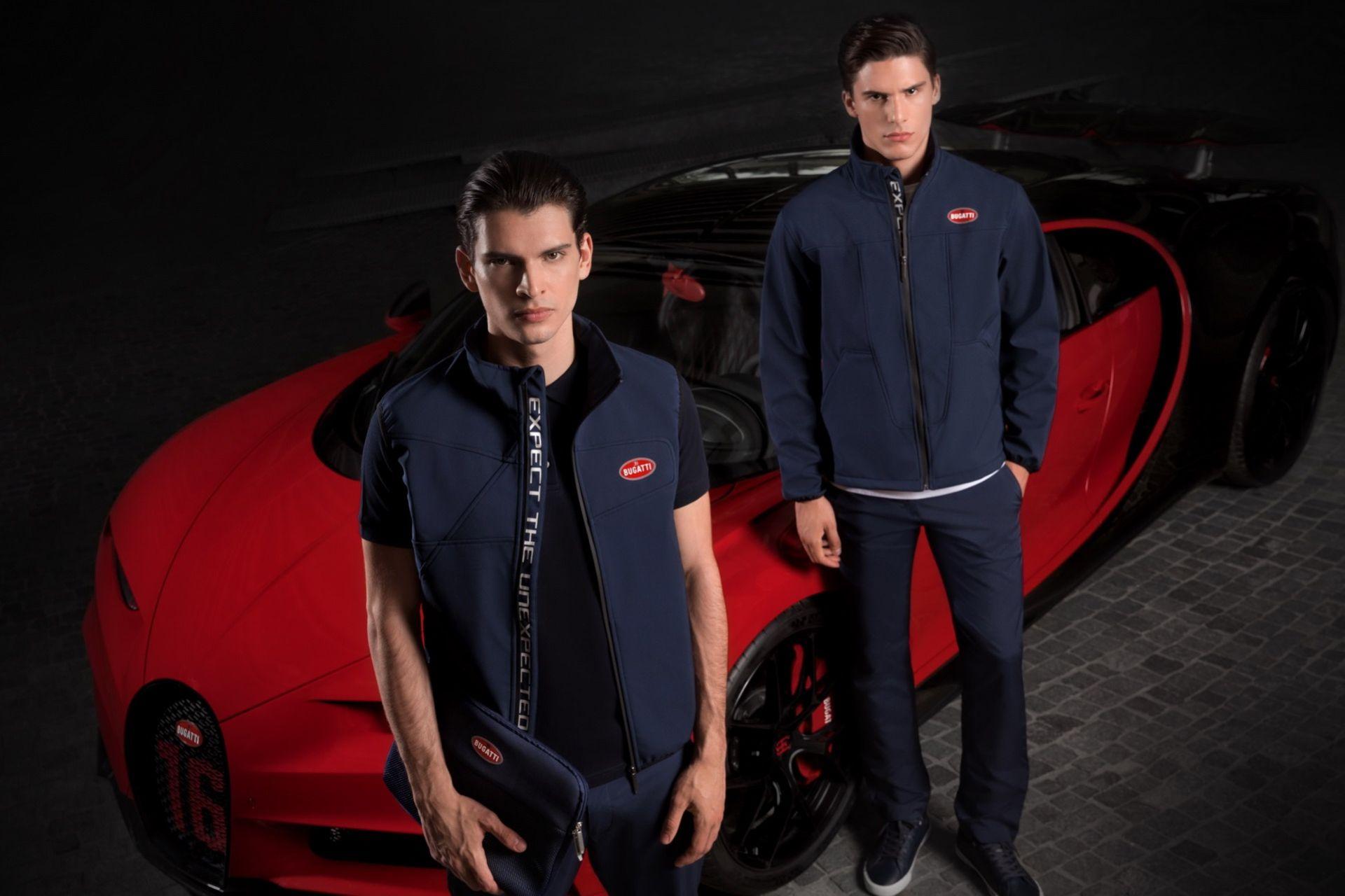 Ny klädkollektion från Bugatti