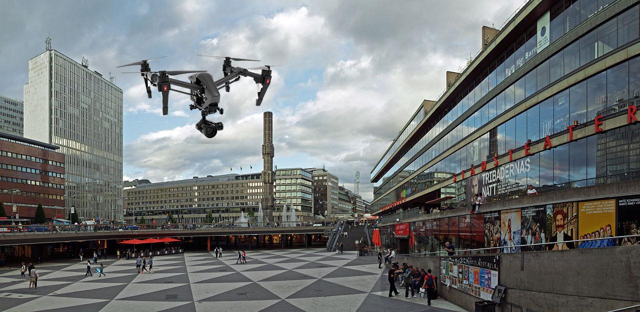 Nu börjar polisen övervaka Stockholm med drönare