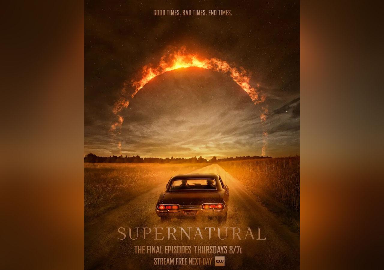 Snart dags att säga hejdå till Supernatural