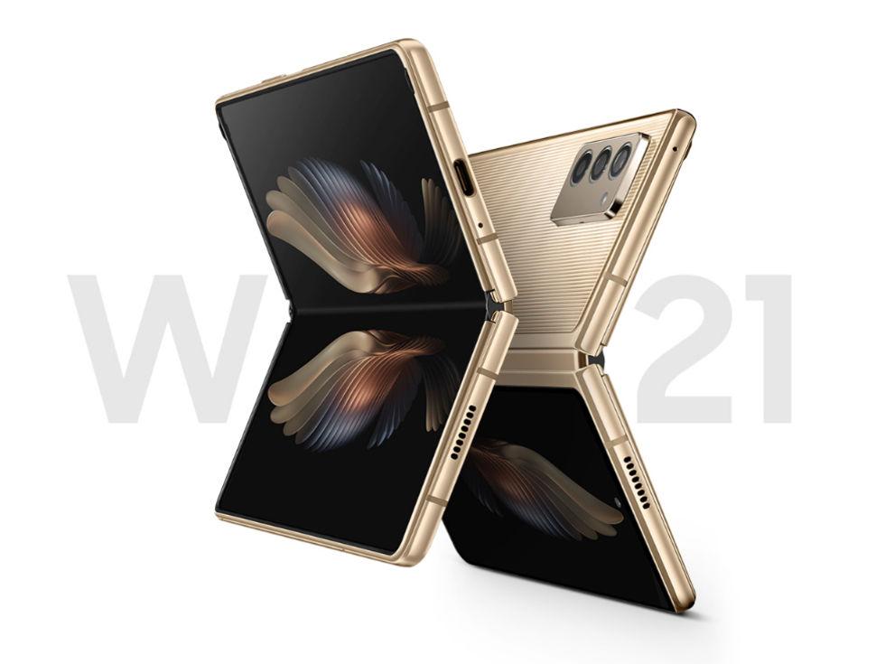 Samsung Galaxy W21 är en lyxigare version av Galaxy Z Fold 2