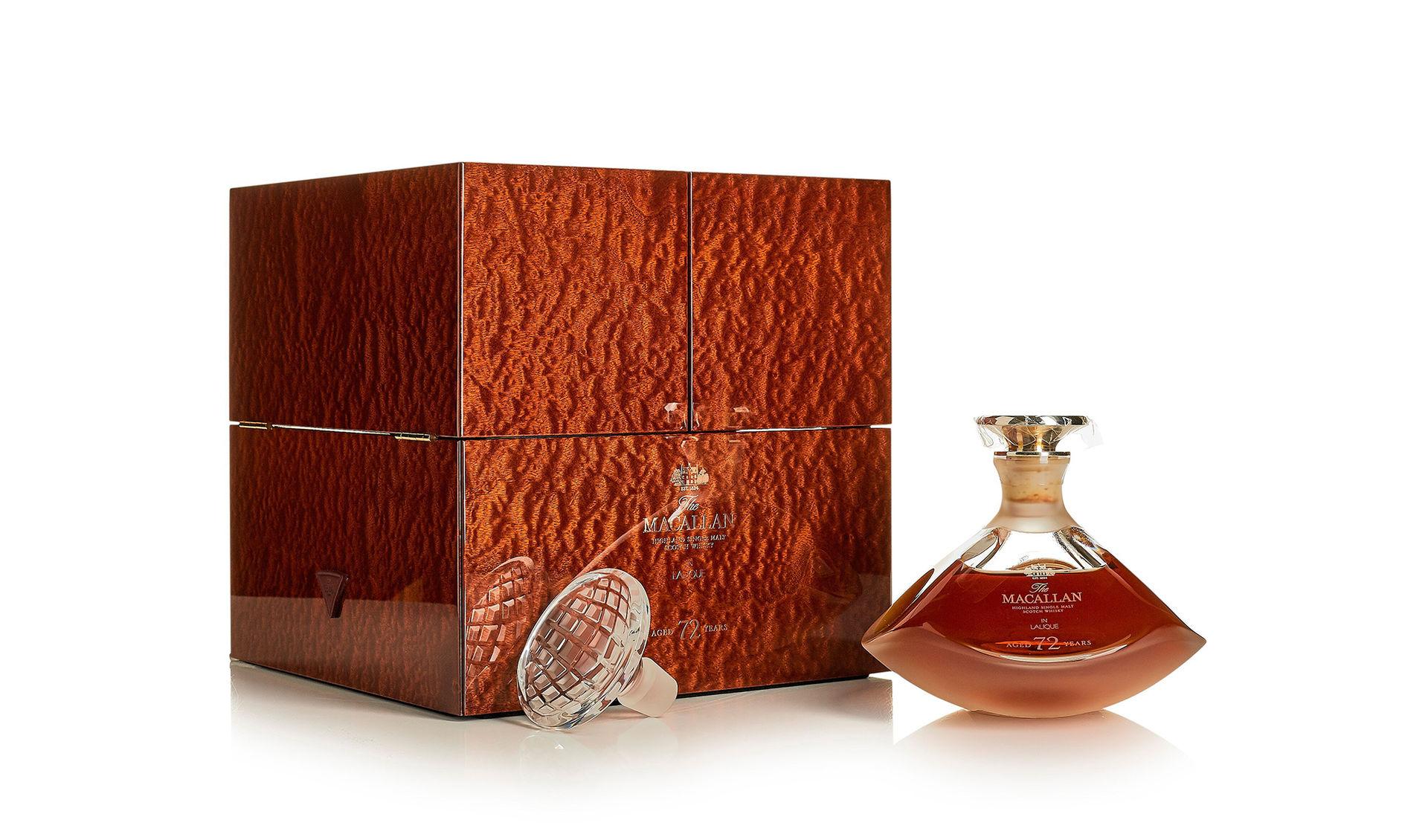 Gammal whisky väntas gå för rekordsumma