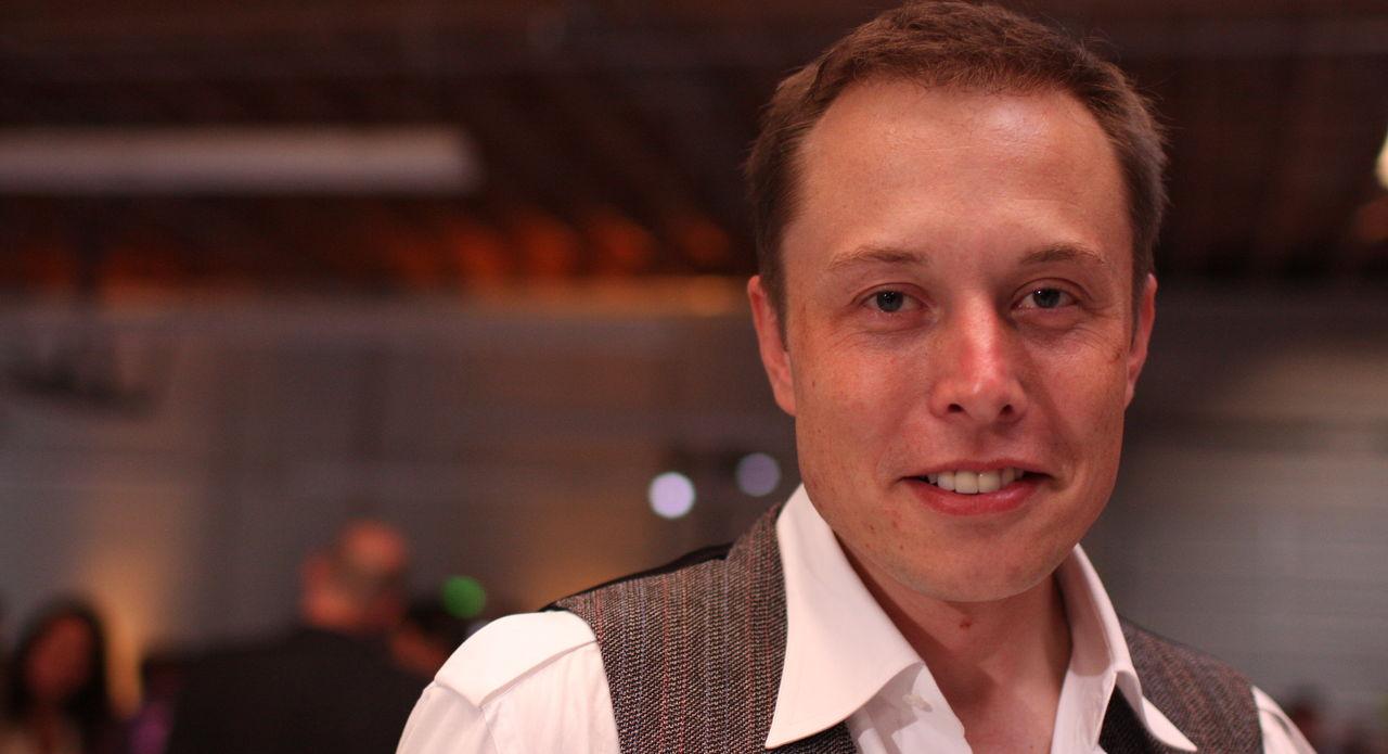 Elon Musk är i Sverige
