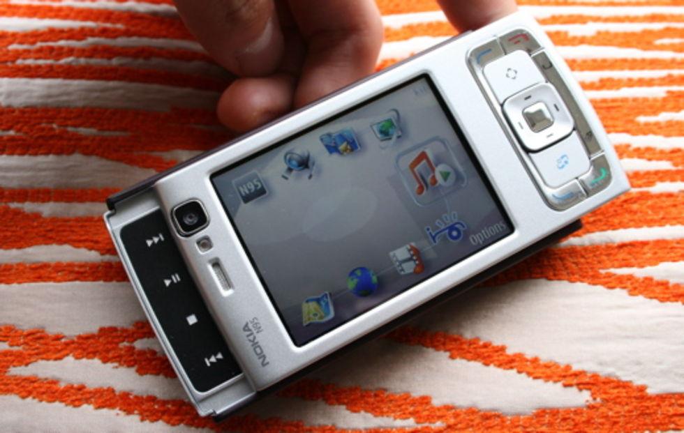 Video på Nokia N95:s användargränssnitt