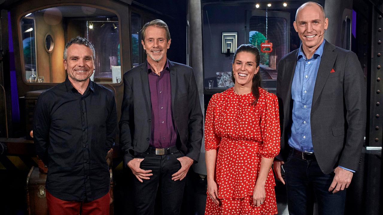 SVT kör sportversion av På Spåret