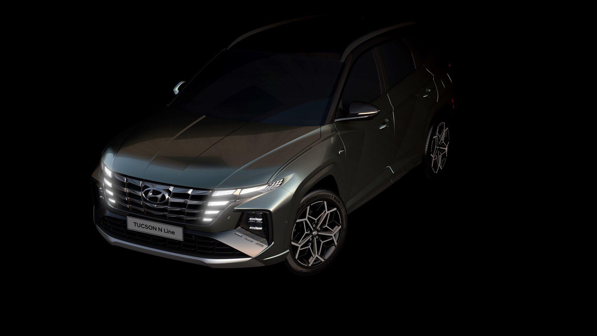 Bilder på nya Hyundai Tucson i N Line-utförande