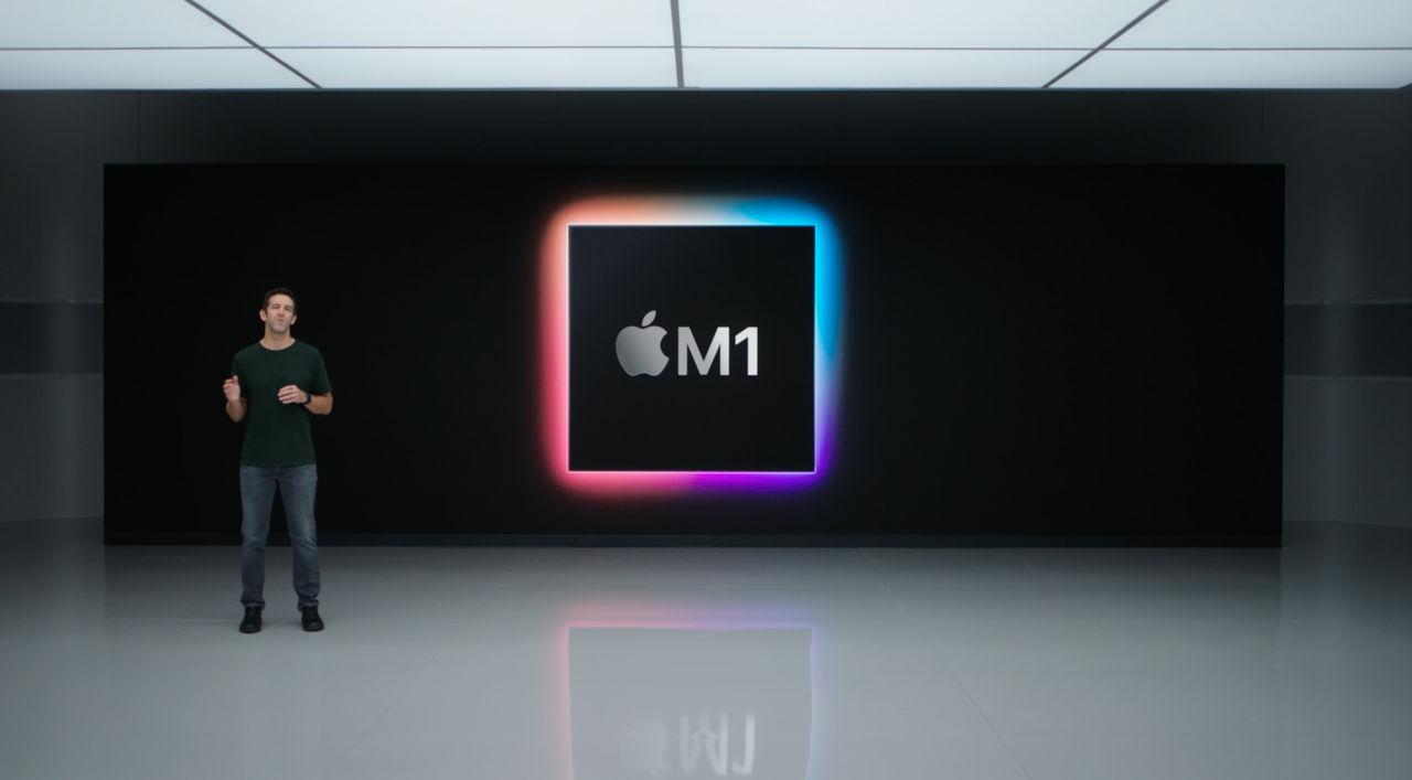 Apple presenterar M1