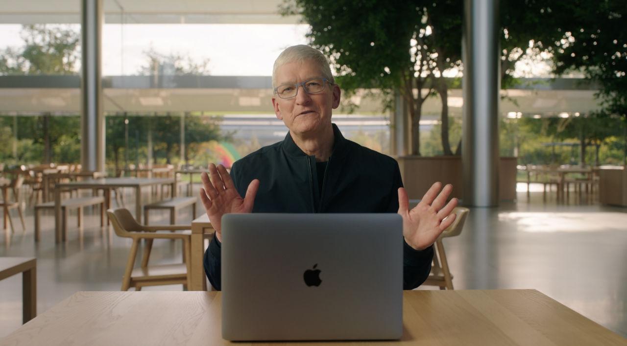Det här presenterade Apple igår