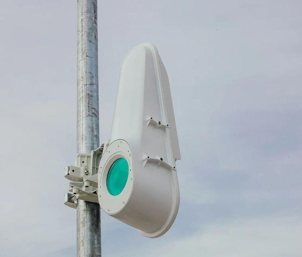 Alphabet testar bredband via ljusstrålar