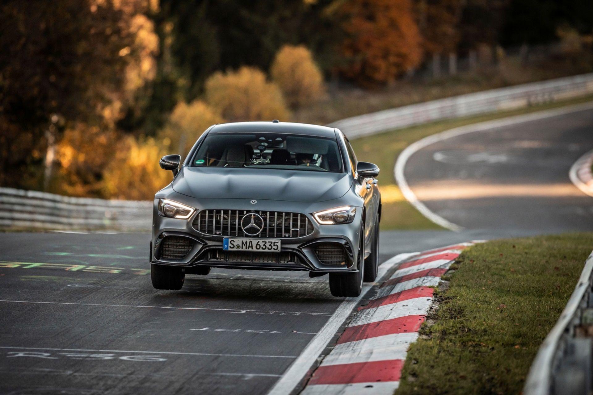 Mercedes-AMG GT 63 S sätter nytt rekord på Ringen