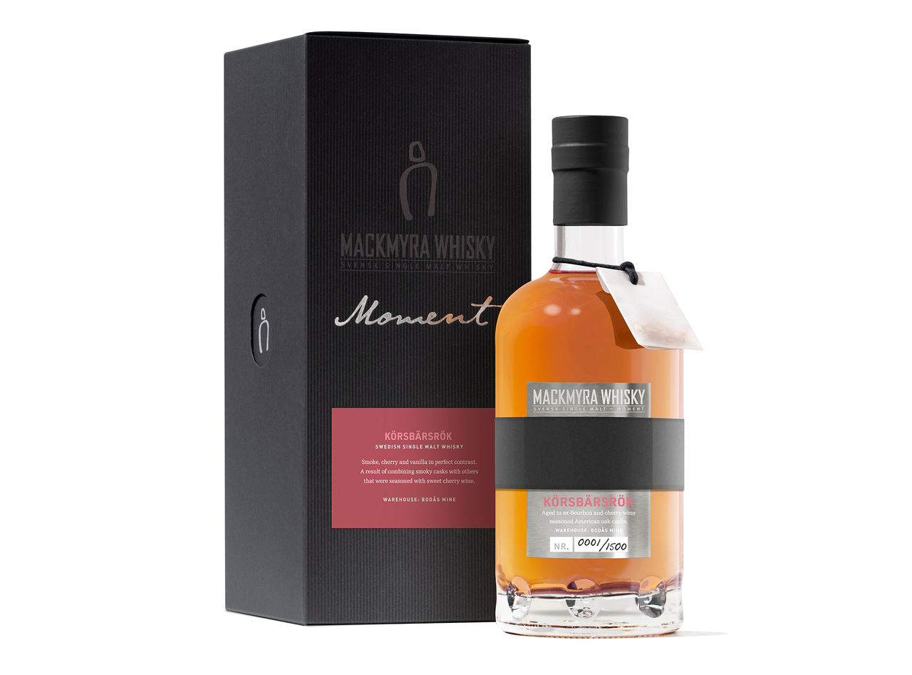 Ny whisky från Mackmyra med smak av körsbär