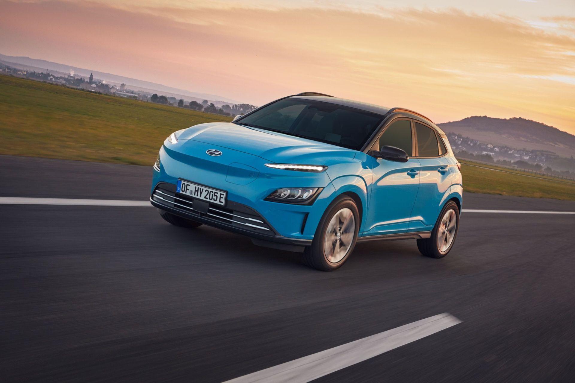 Hyundai lyfter även den eldrivna versionen av Kona