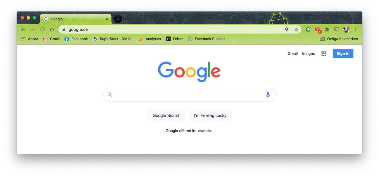 Ny version av Chrome förhindrar kapning av tabbar