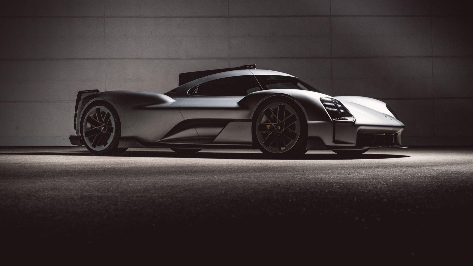 Porsche visar upp koncept som aldrig blev verklighet