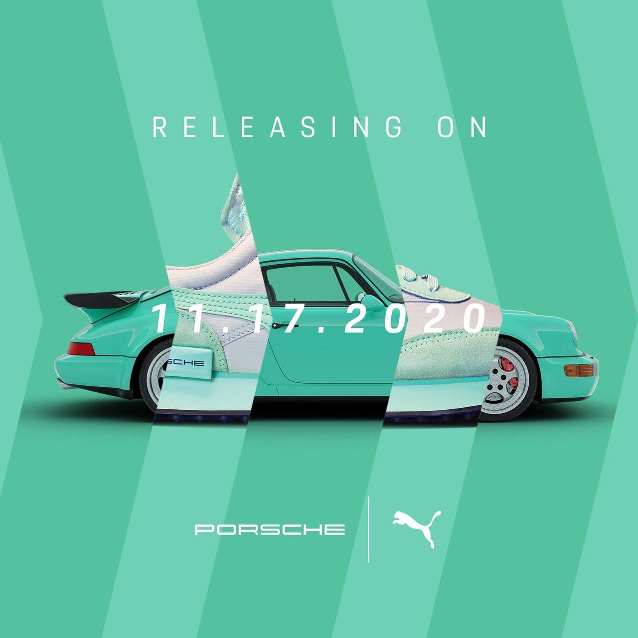 Snabba sneakers från Porsche och Puma