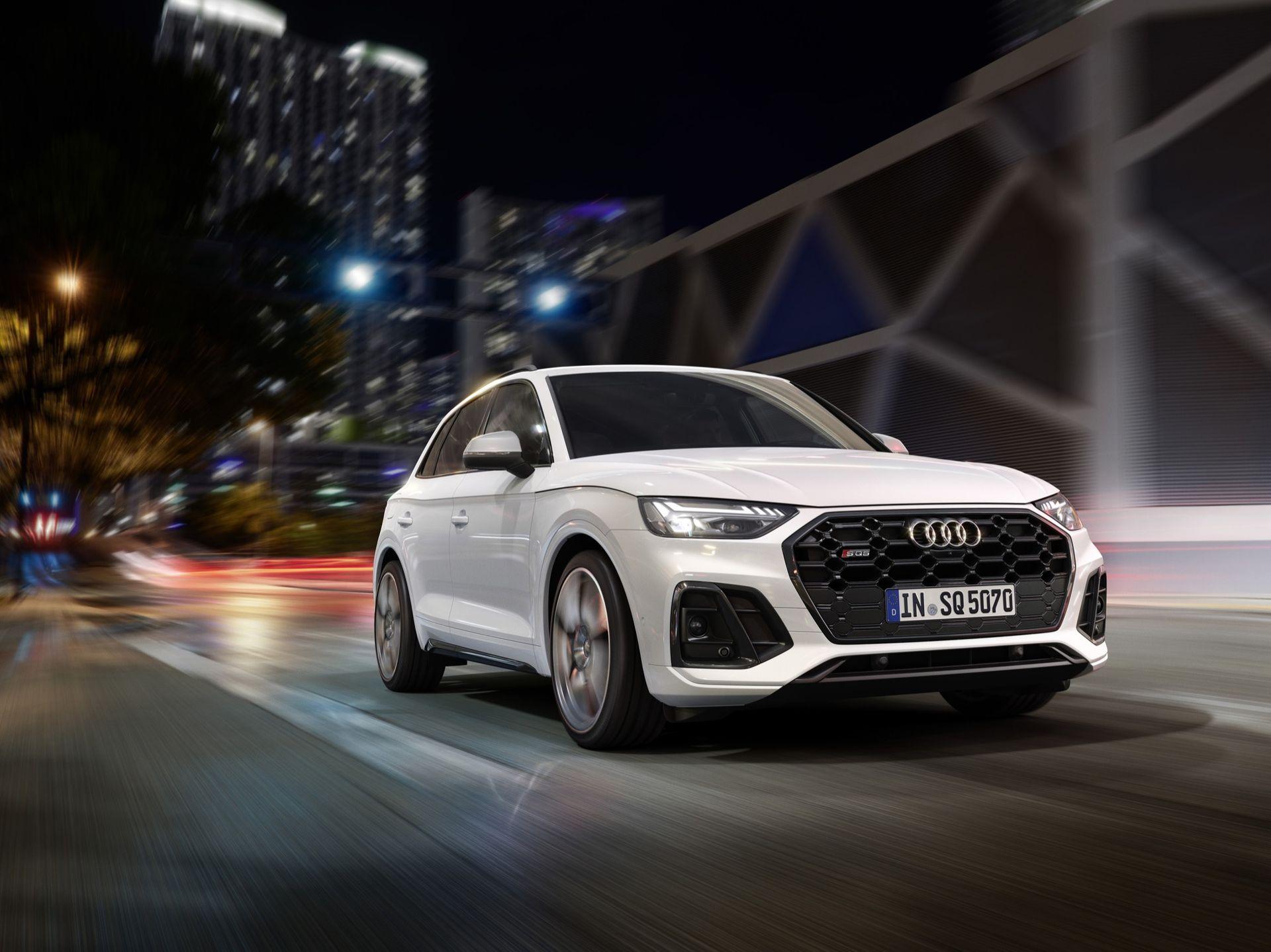 Audi uppdaterar SQ5