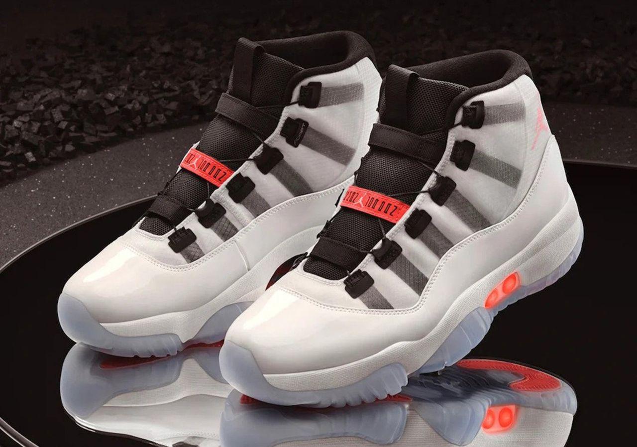 Air Jordan kommer med självsnörning
