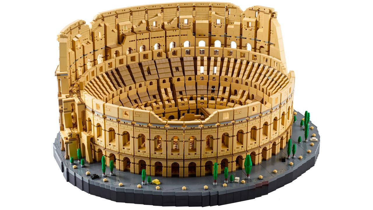Colosseum är LEGO:s största bygge