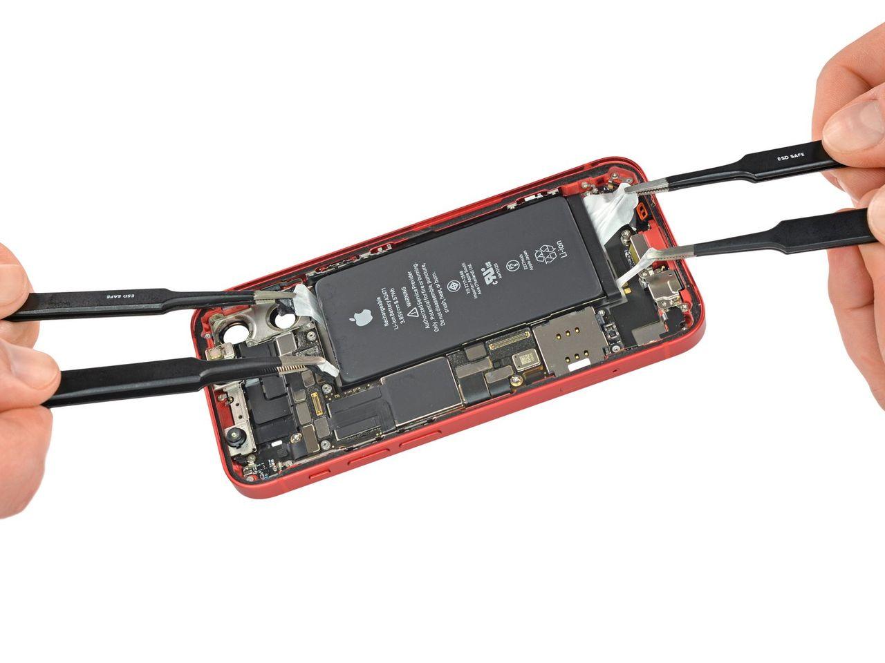 iFixit river isär iPhone 12 mini