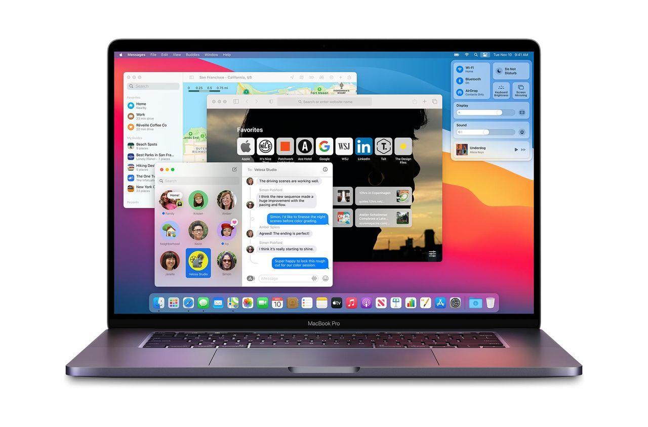 macOS Big Sur kan bricka äldre MacBook Pros