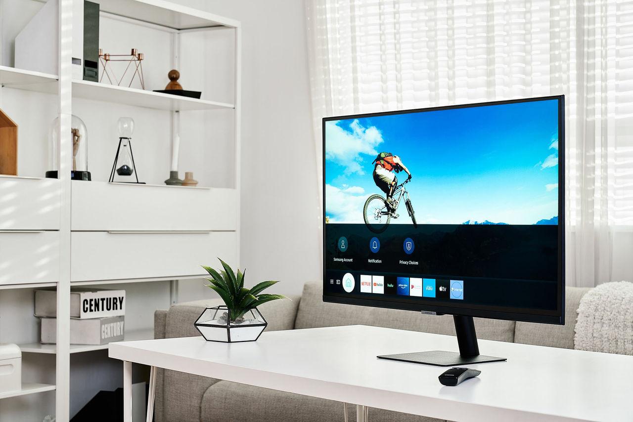 Samsung presenterar nya Smart Monitor-serien