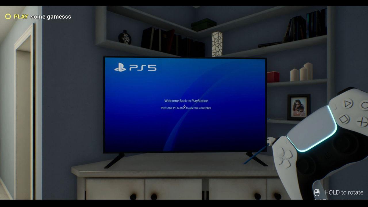 Testa hur det är att äga PS5 med PS5 Simulator