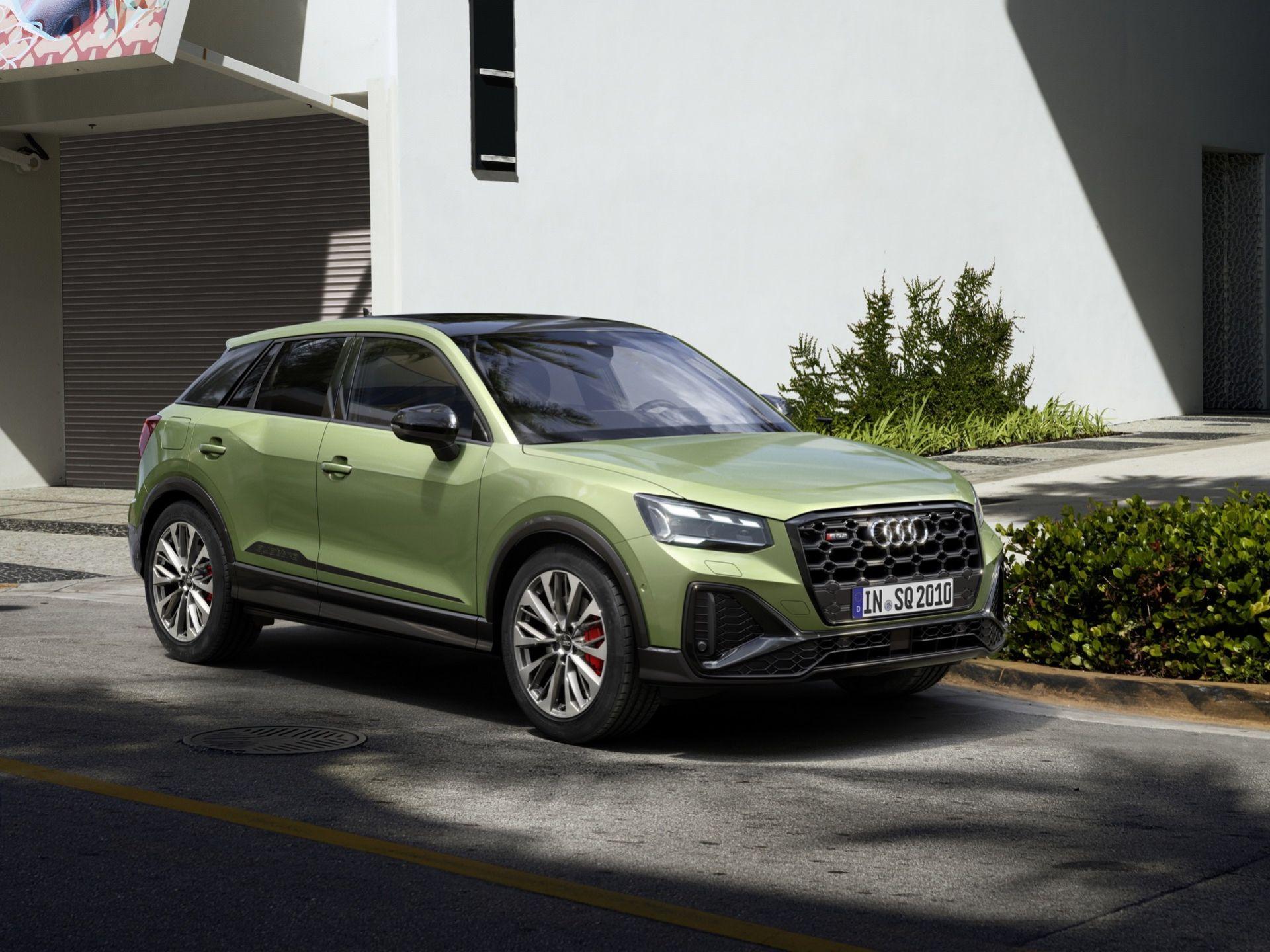 Audi uppdaterar SQ2