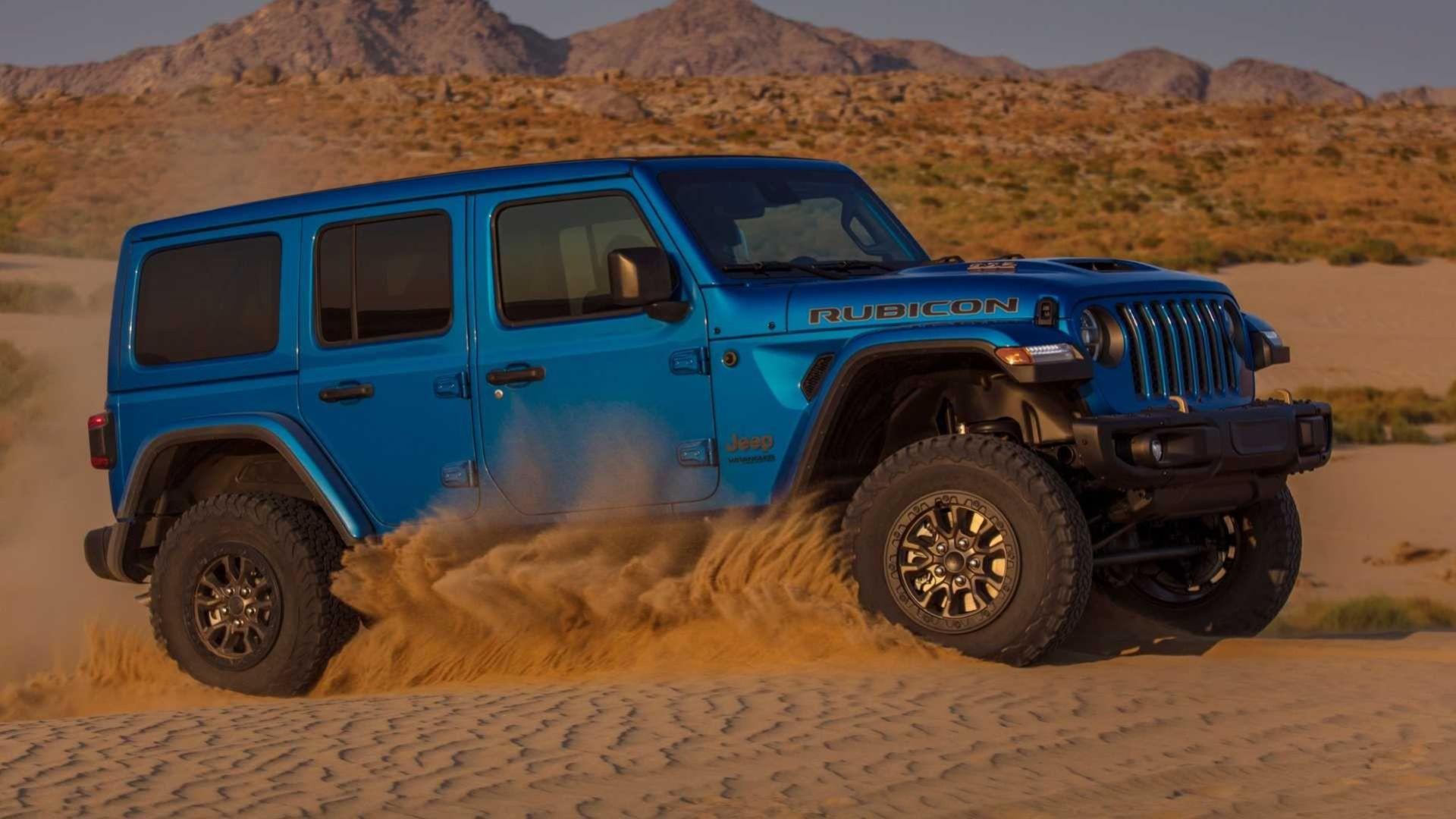 Det här är nya Jeep Wrangler med V8:a