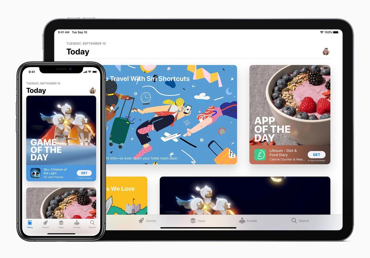 Apple sänker App Store-provisionen mot mindre företag