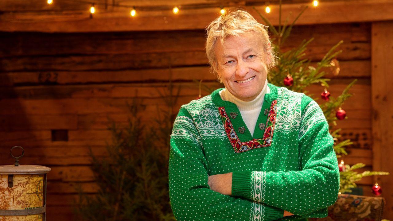 Lars Lerin är julvärd på SVT i år