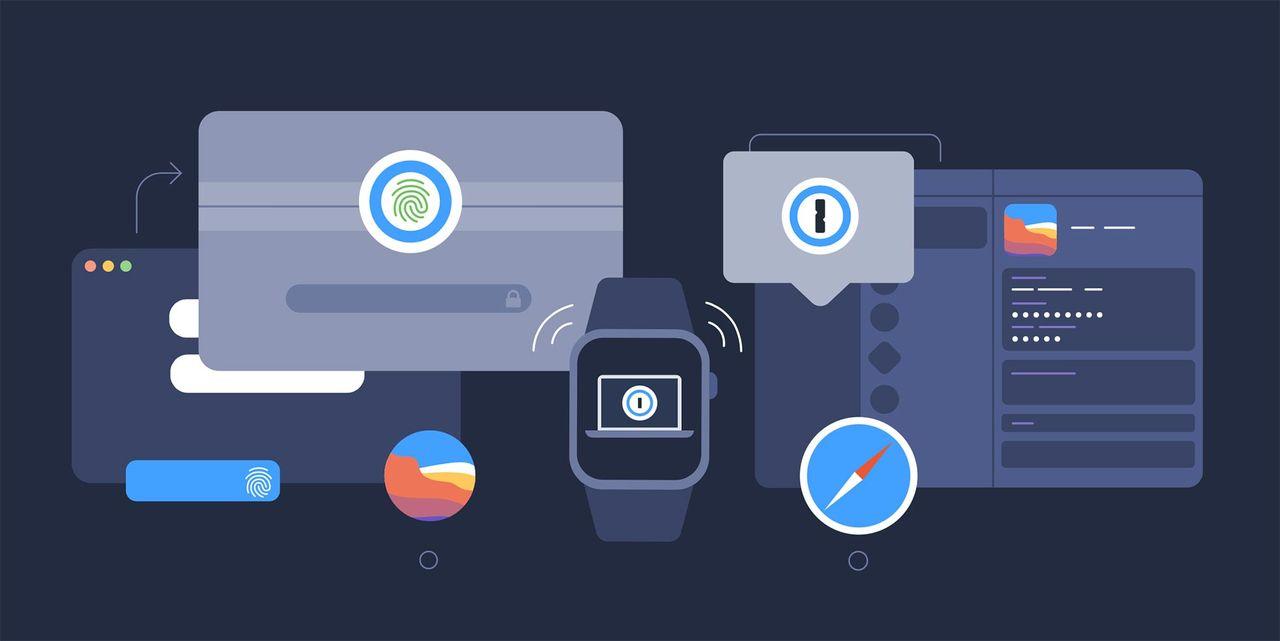1password går nu att låsa upp med Apple Watch