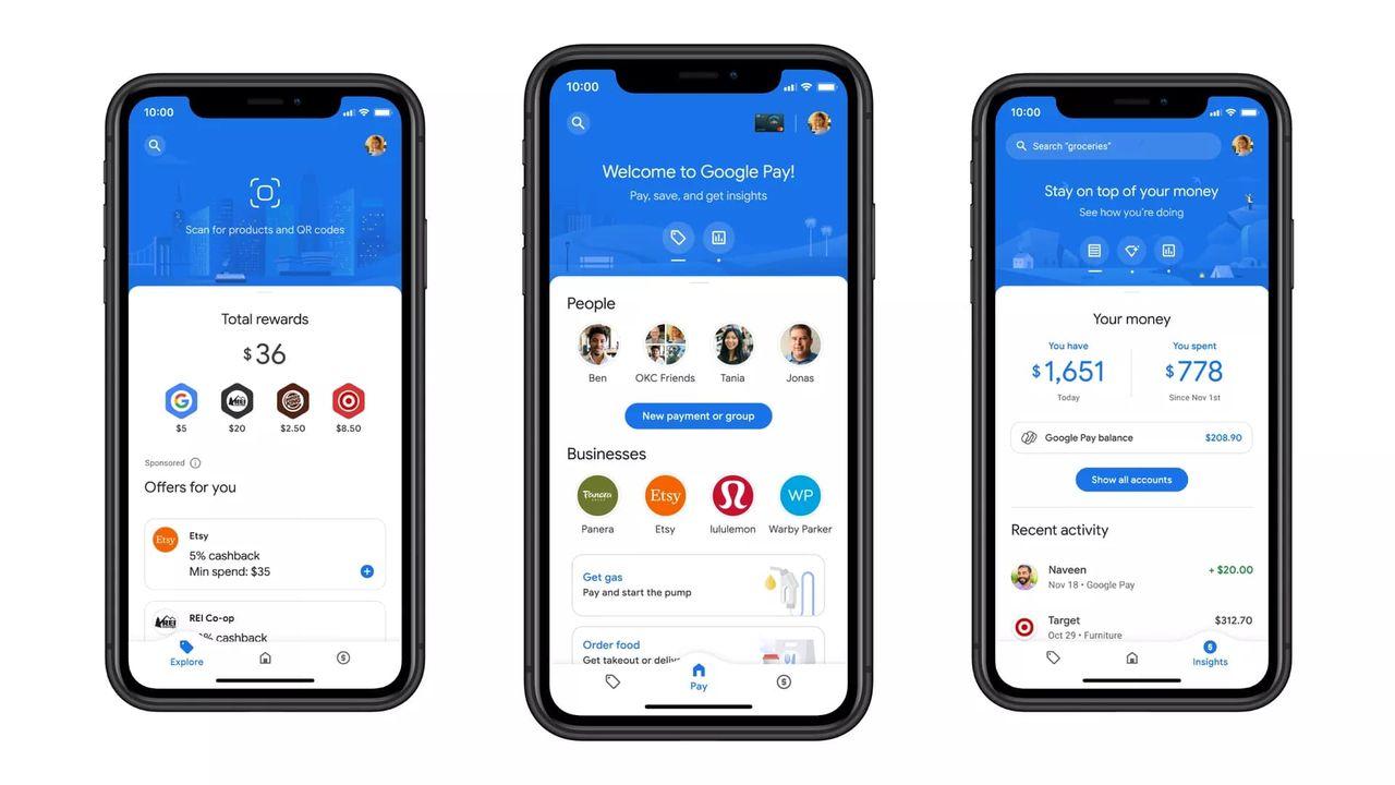 Google Pay får sig en rejäl uppdatering