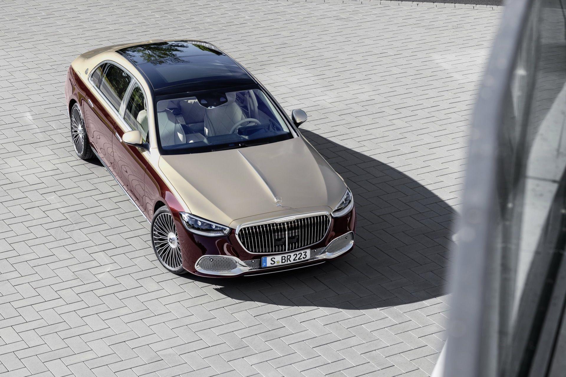 Nya Mercedes-Maybach S-Klass är här