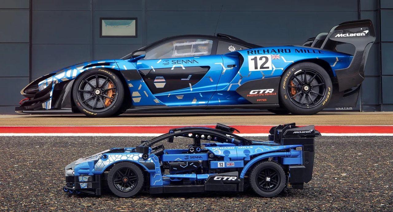 McLaren Senna GTR snart här som Lego Technic