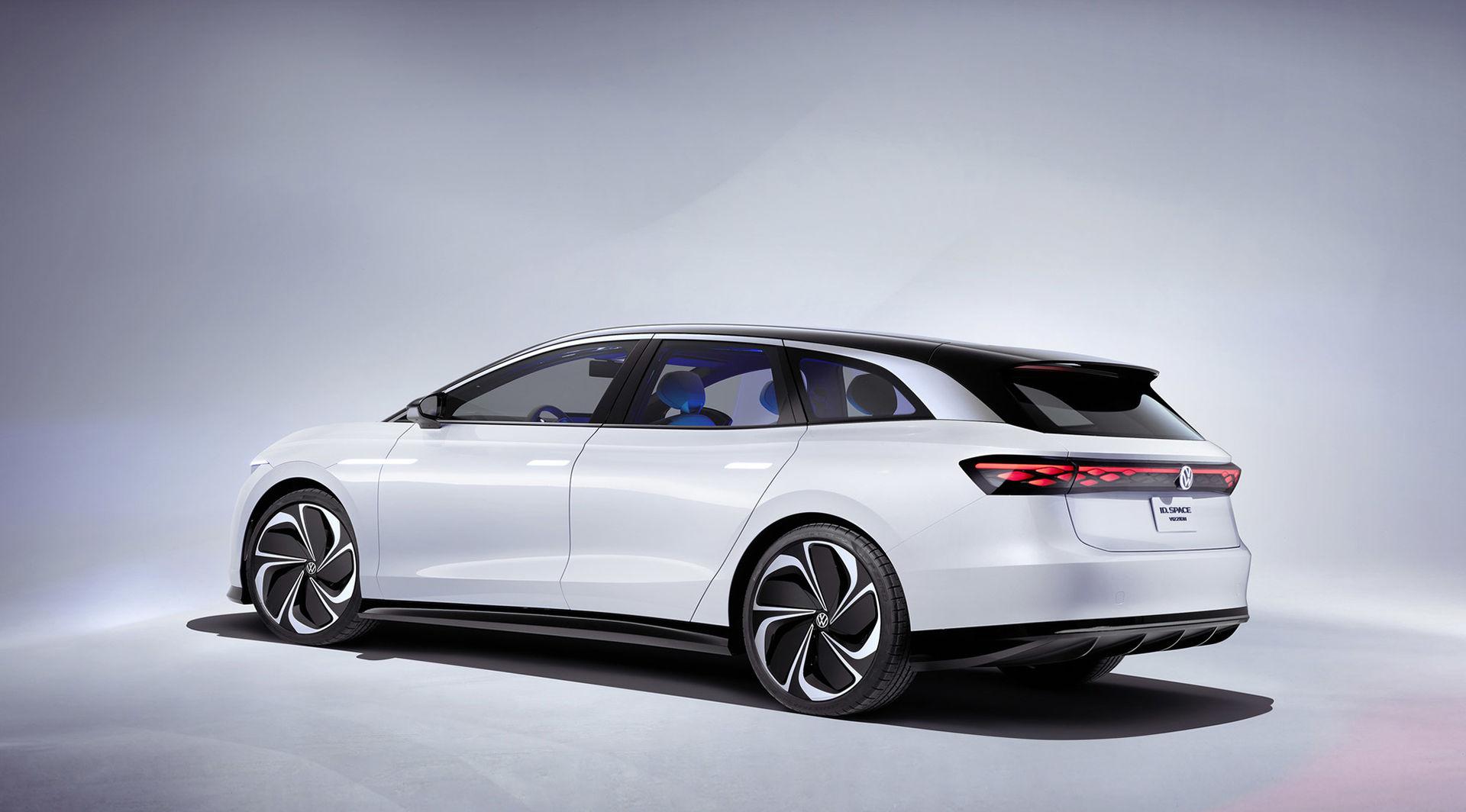 Elbil baserad på Volkswagen ID. Space Vizzion bekräftad