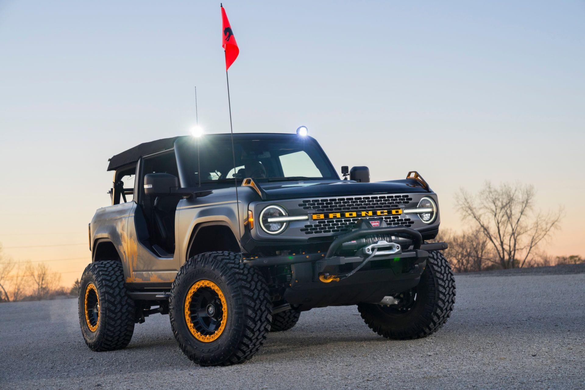 Ford delar med sig av Bronco-koncept
