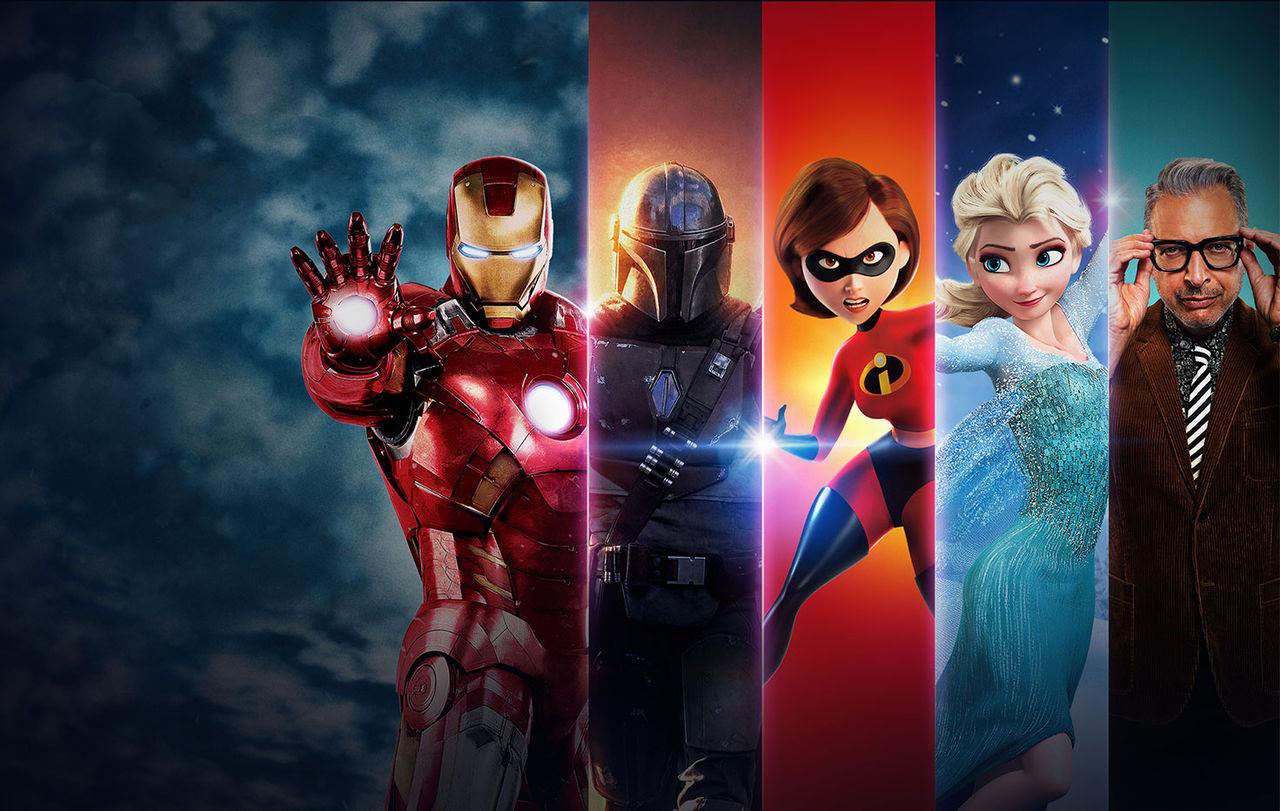 Disney Plus näst största tjänsten bland unga