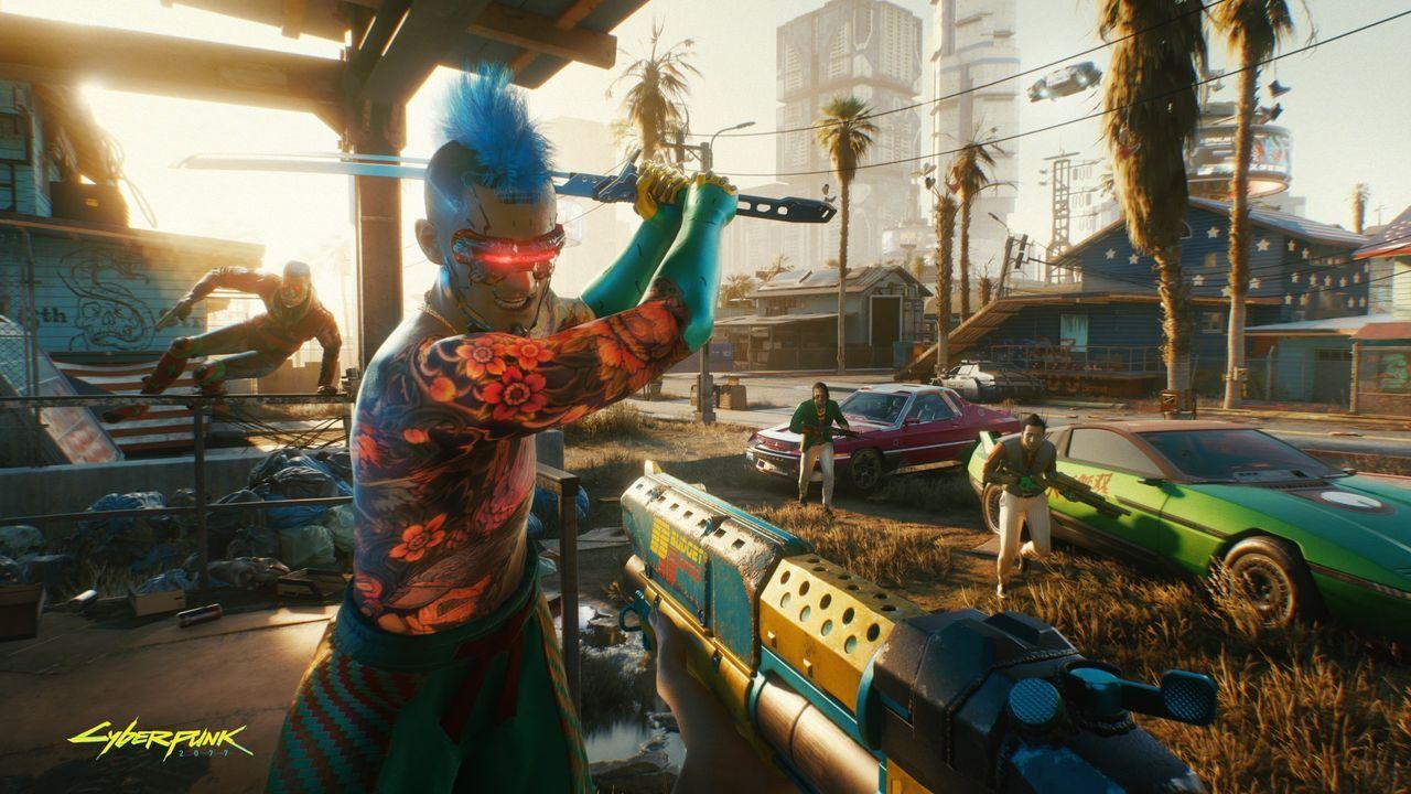 Cyberpunk 2077-gameplay har läckt ut