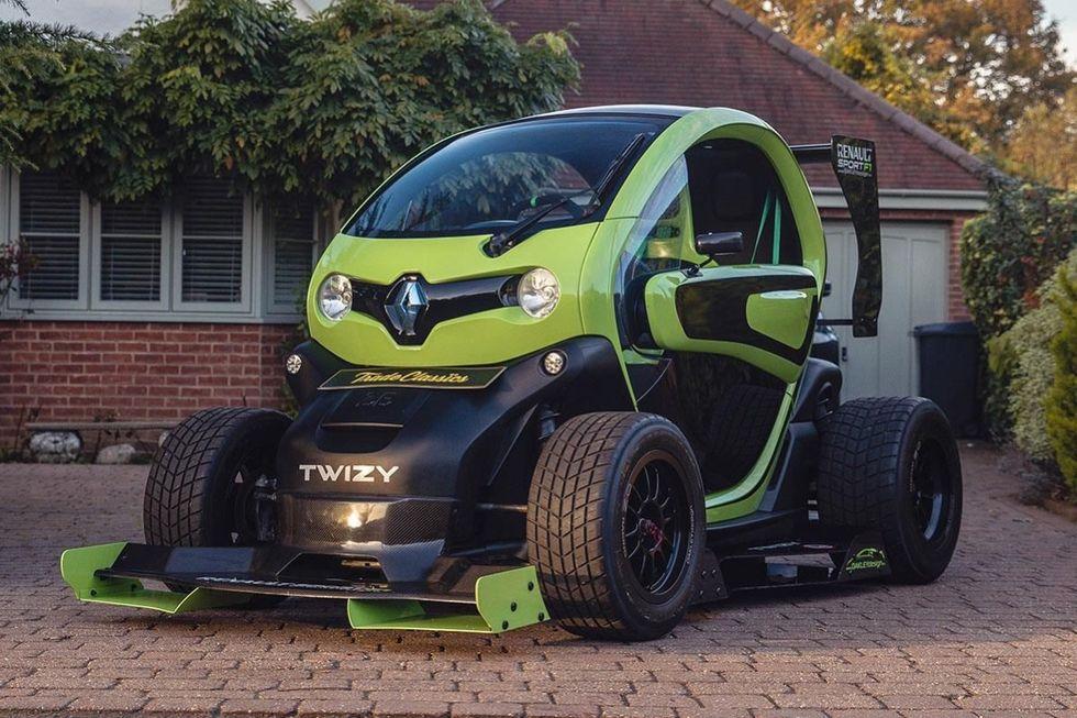 Tokfet Renault Twizy till salu