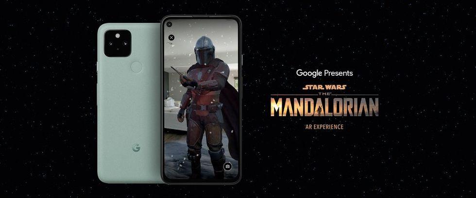 Google gör AR-upplevelse av The Mandalorian