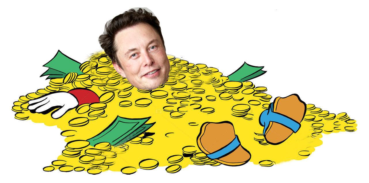 Elon Musk är nu näst rikast i världen