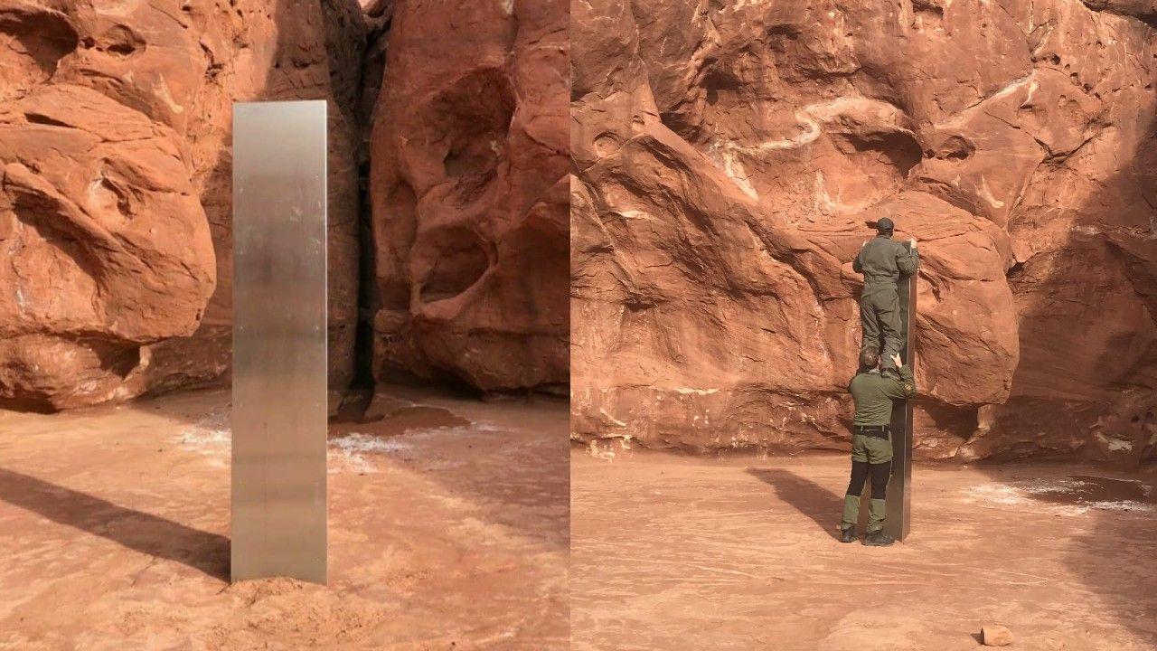 Mystisk monolit hittad i Utah