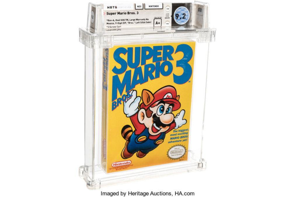 Super Mario Bros 3 sålt för 1,3 miljoner kronor