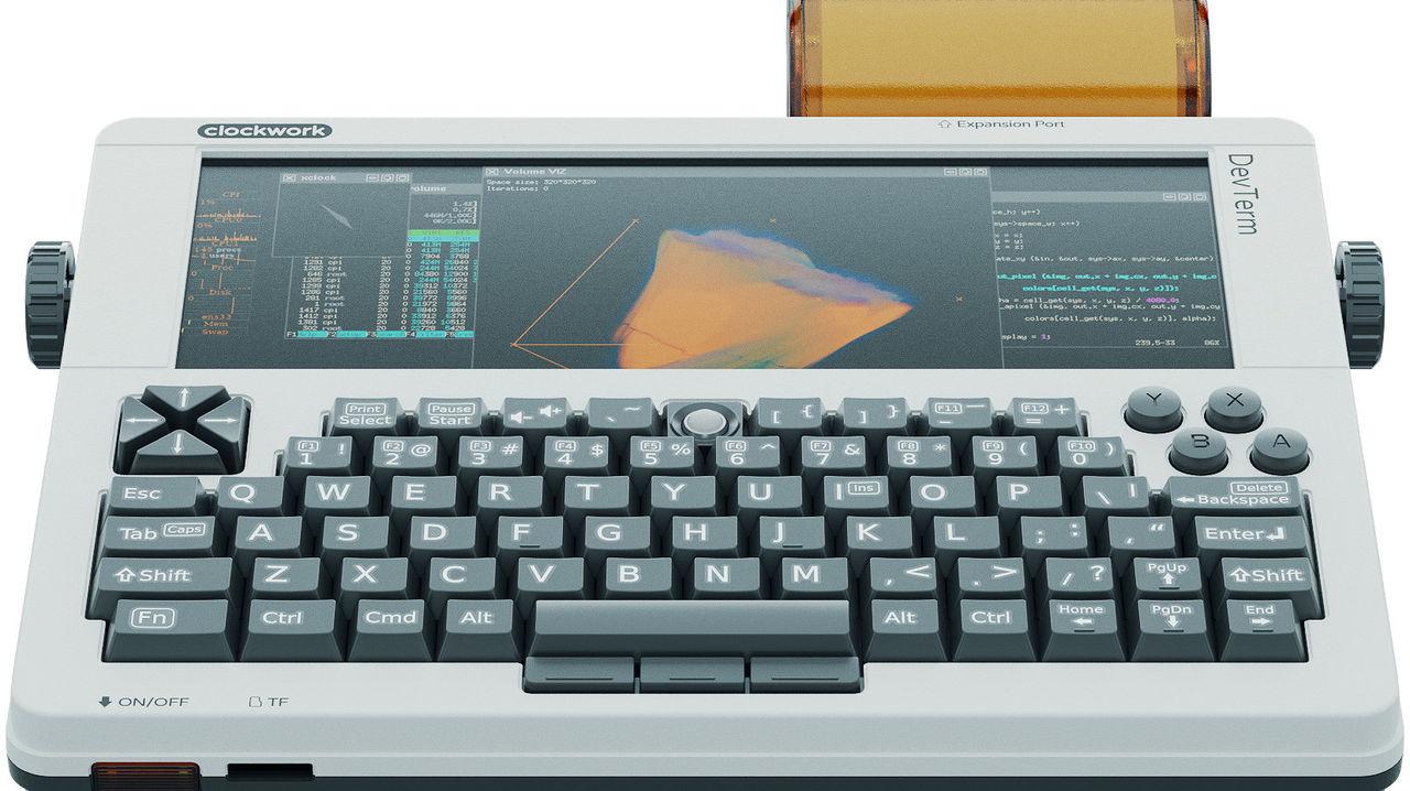 DevTerm är en dator som ser ut som en skrivmaskin