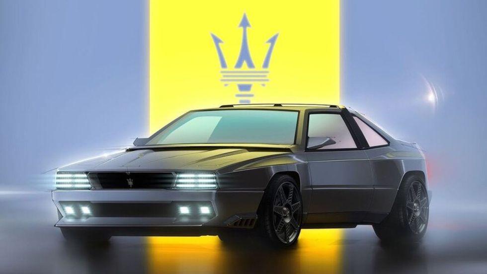 Modern tolkning av Maserati Shamal