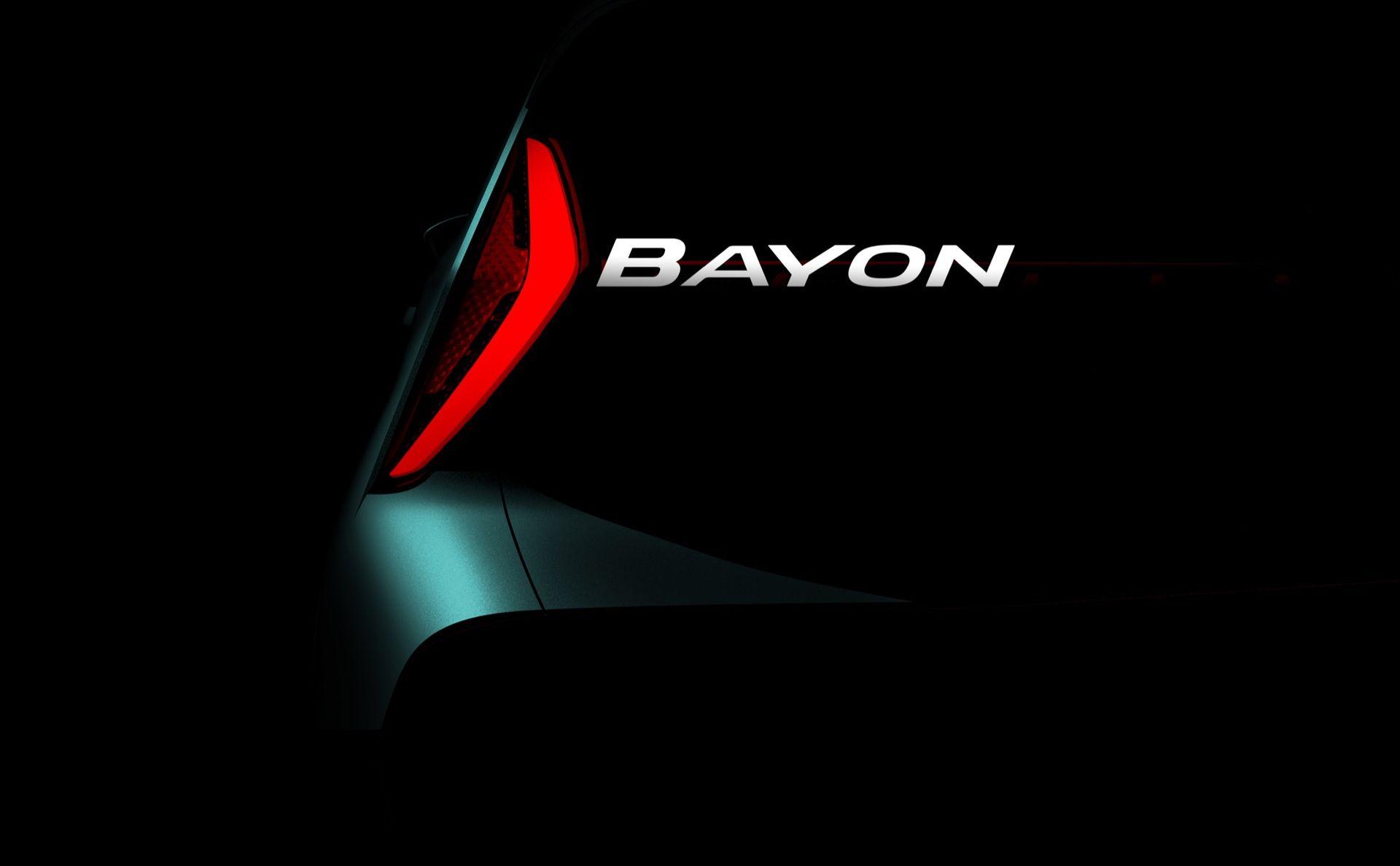 Hyundais nya crossover heter Bayon