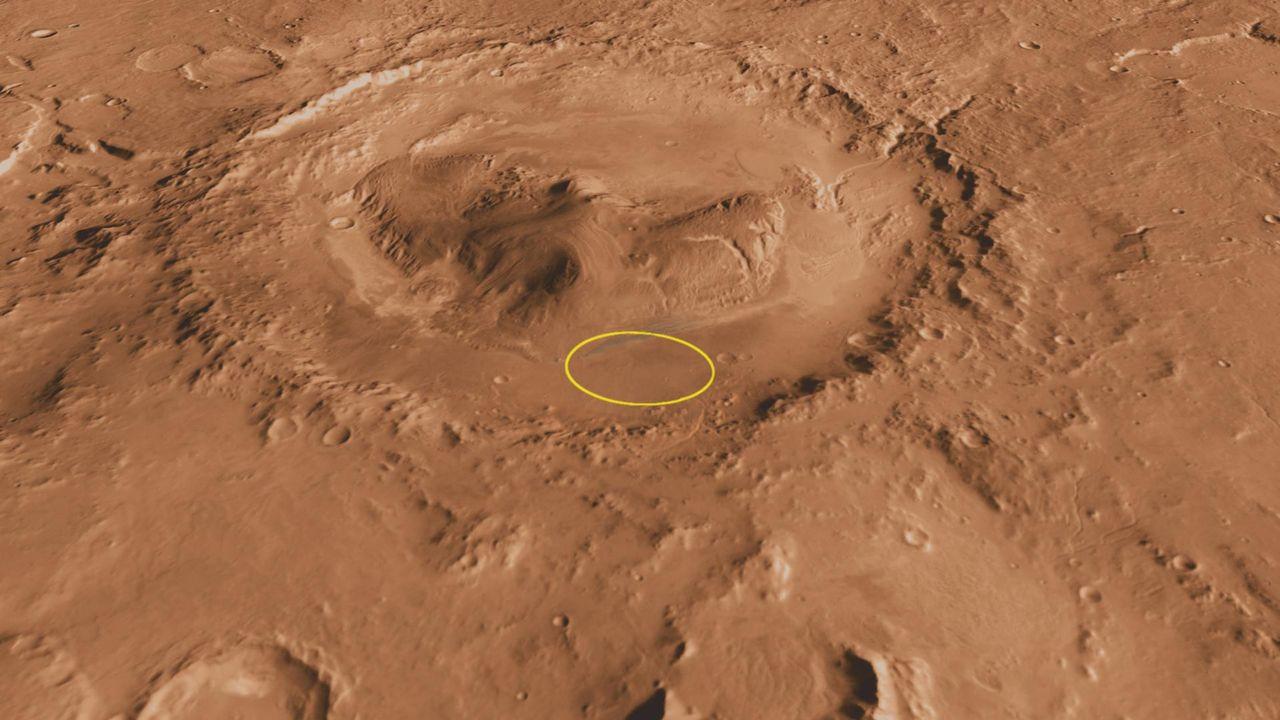 Forskare hittar tecken på stora floder som runnit på Mars