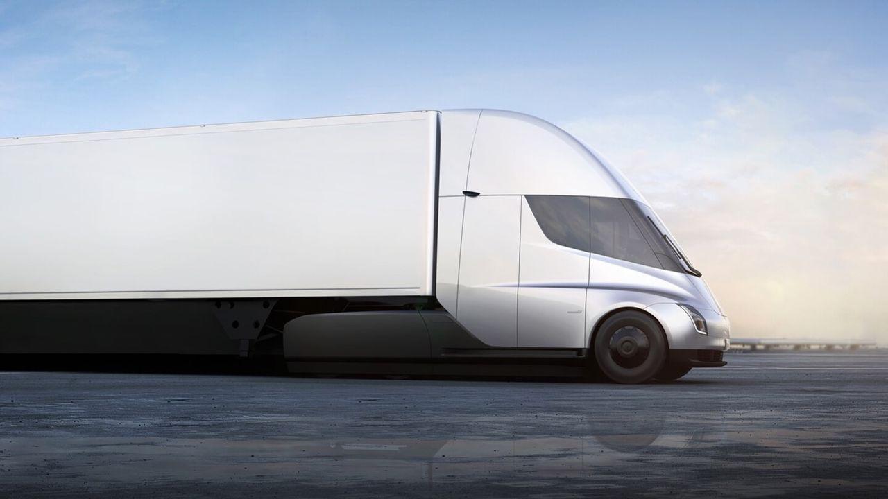 Teslas lastbil kommer ha upp till 100 mils räckvidd