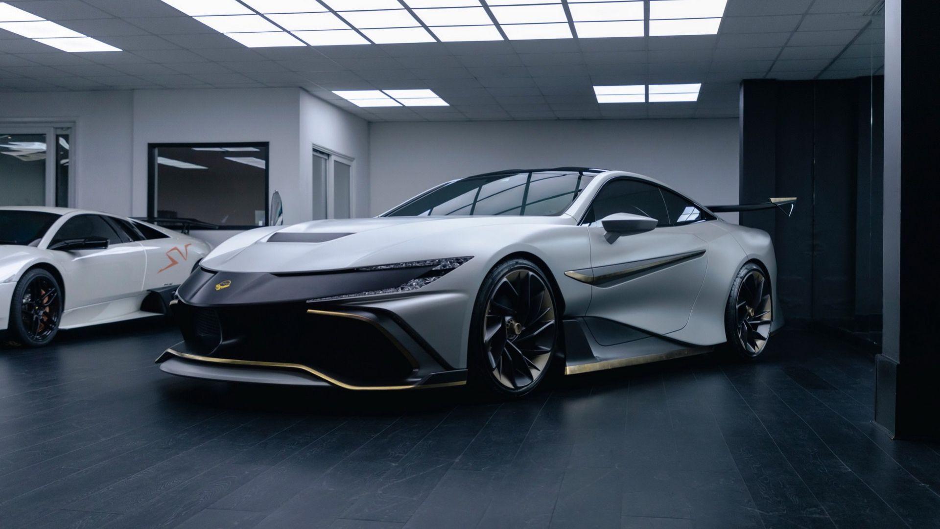 Naran Automotive presenterar hyperbilen Naran