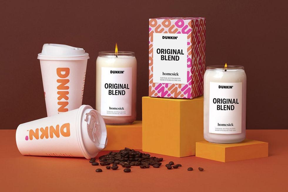 Doftljus från Dunkin' Donuts